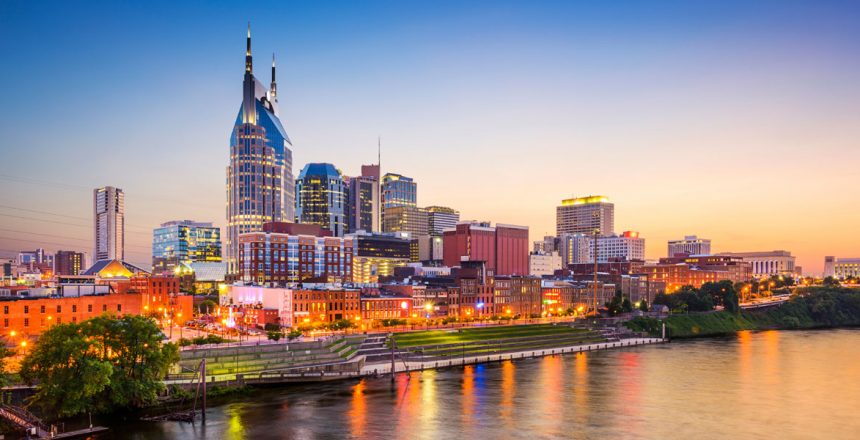 Nashville Skyline, Nashville Job Market, Downtown Nashville
